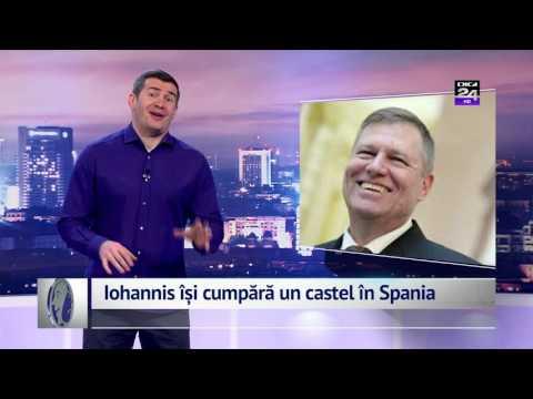 Iohannis își cumpără un castel în Spania