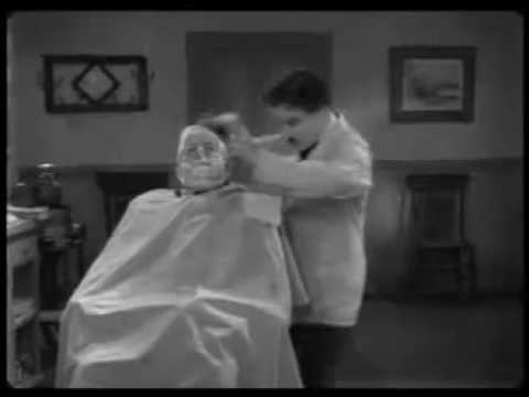 Charlie Chaplin from The Great Dictator - The Shaving Scene