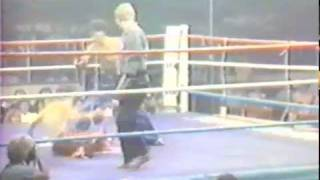 Ken Levy Kickboxing short fight clips from video