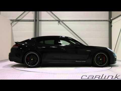 Porsche Panamera GTS Black