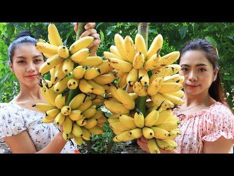 Yummy Cooking Banana Dessert Recipe - Natural Life TV
