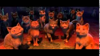 Кот в сапогах танцевальный бой