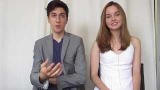 Nat Wolff and Liana Liberato Talk About Their Movie 'Stuck in Love'