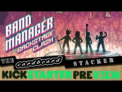 Band Manager: Backstage Clash Preview - A Negotiation Management Game (Kickstarter thur Nov. 3 2016)