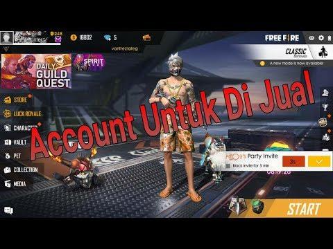 Account Free Fire Mahu Di Jual Link Buy Acc Ada Di Description Youtube