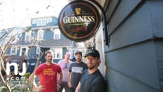 Four New Jerseyans turn their garages into bars