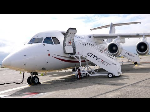 CityJet Avro RJ85 Dublin to London City- TRIP REPORT- Economy