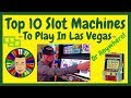 💥Top 10 Slot Machines To Play In Las Vegas!💥