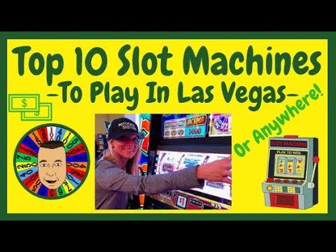 💥Top 10 Slot Machines To Play In Las Vegas!💥