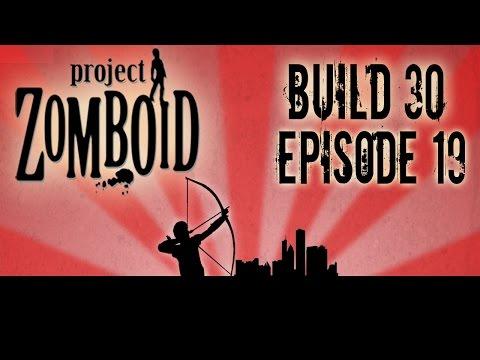 Project Zomboid Build 30 | Episode 19 | Train Depot Drama