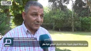 بالفيديو| مدير حديقة الحيوان بالجيزة: