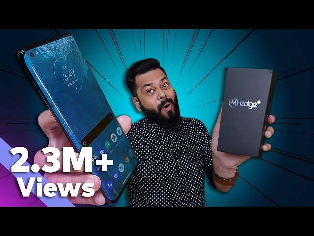 Motorola Edge + Unboxing And First Impressions ⚡⚡⚡ Better Than Other Flagships?