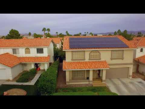 Radiant Solar Drone Capture
