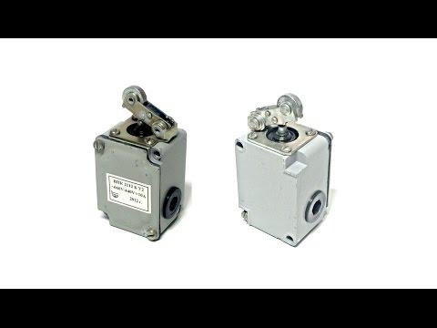 ВПК-2112-БУ2 Концевой выключатель с роликовым рычагом