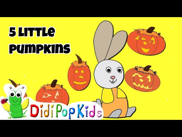 Halloween: Bunnykins subtracts from 5 to 1