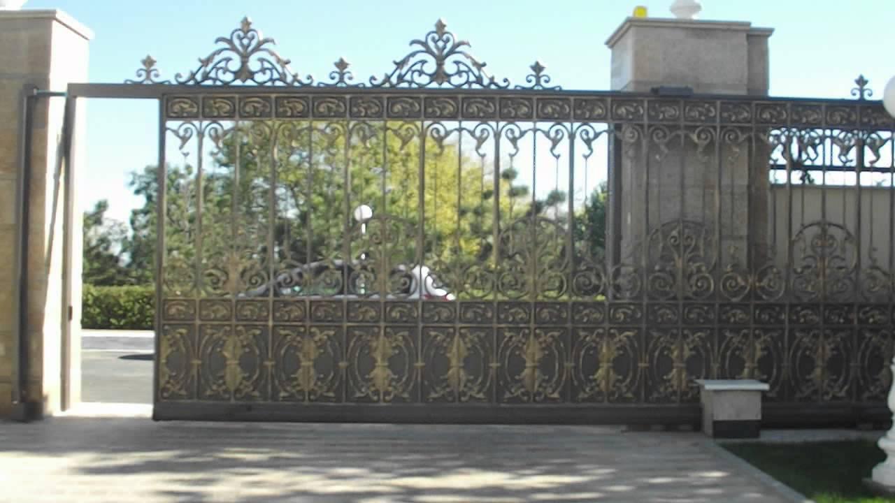Las Puertas Correderas De Hierro Fundido El Lujo