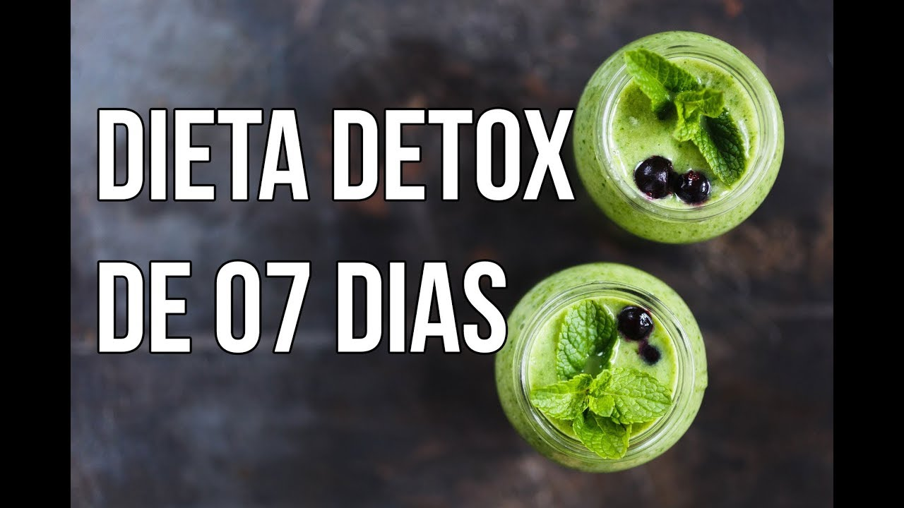 Detox dieta 7 dias
