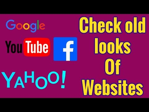 How to check website old looks? | Wayback Machine | Website previous years looks.