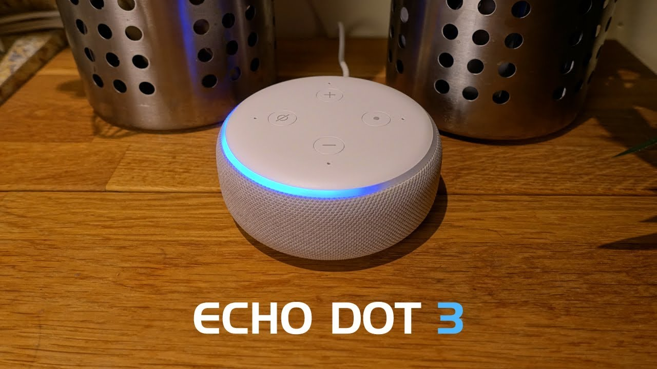 Echo Dot Installation Amazon Echo Dot 3rd Generation Review Demos