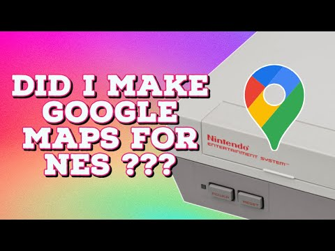 I made Google Maps 8-bit for NES because Google wouldn't