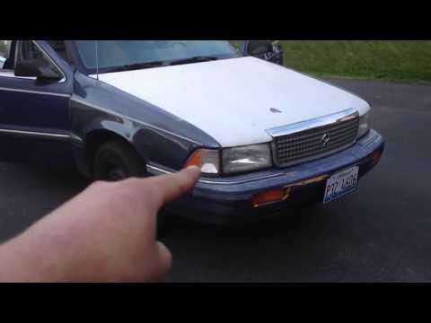 1991 Dodge Spirit Start Up