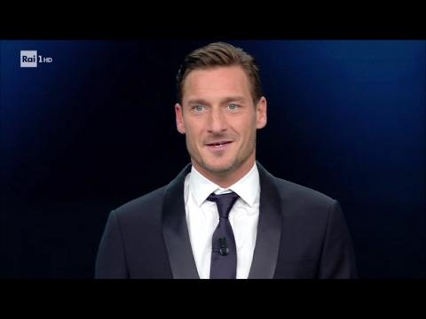 Sanremo 2017 - Francesco Totti
