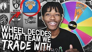 THE WHEEL OF TRADES REBUILDING CHALLENGE IN NBA 2K20