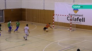 #CalafellEsportiu | Platense Calafell B 10-3 Escola F.S. Vendrell | Futbol Sala | 06.04.2017