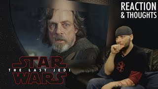 Star Wars: The Last Jedi Trailer (Official) REACTION & THOUGHTS!!