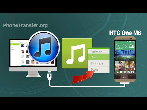 How to Sync HTC One M8 with Mac, Transfer Music, Playlist from iTunes to HTC One M9 on Mac