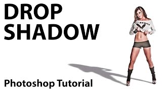 How to Create a Real Drop Shadow in Photoshop with Layer Styles