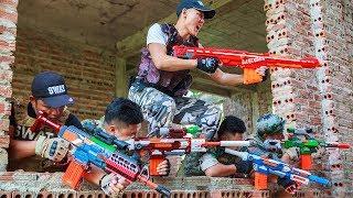 LTT Nerf War : SEAL X Warriors Nerf Guns Fight Criminal Group Weapons Nerf Mod Production