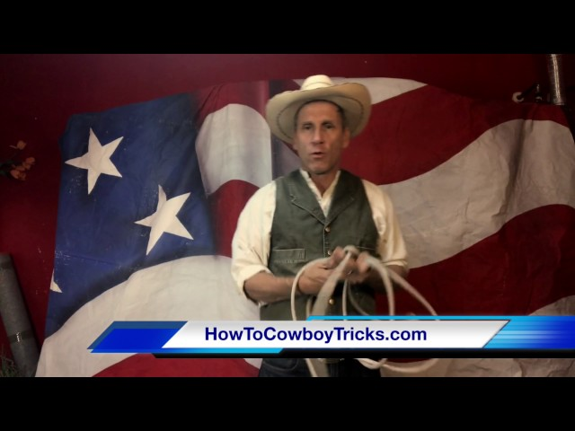 How To Butterfly trick rope with Will Roberts - HowToCowboyTricks.com