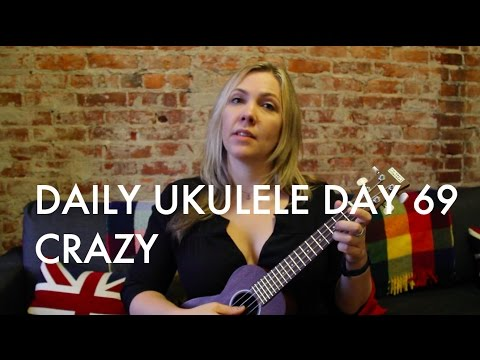 Crazy ukulele cover (Patsy Cline) : Daily Ukulele DAY 69