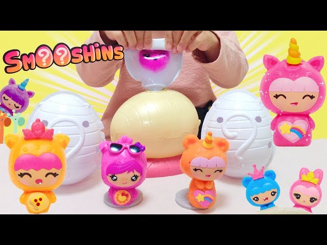 手作りスクイーズキット! たまごで作る ぷにぷにスクイーズ / Squishy Maker! Smooshins Surprise Maker Kit : DIY Toy Kit