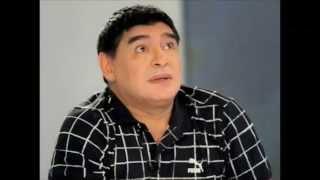 Maradona Nuevo Look