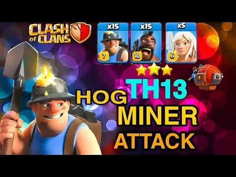 HOG RIDER - MINERS (Hybrid) STRATEGY Ft. My Life Gaming
