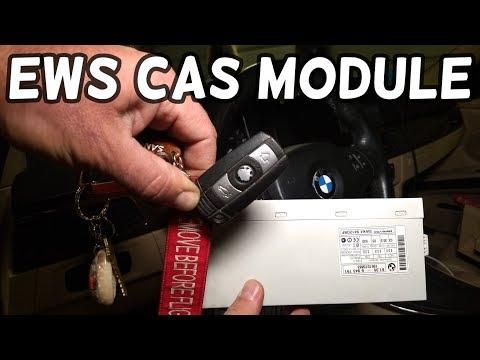 WHERE IS THE EWS CAS MODULE BMW E90 E92 E93 E91