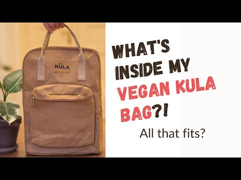 What's in My Vegan Bag - Kula!