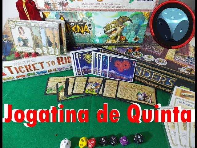 Jogatina de Quinta - Cartas de Catan