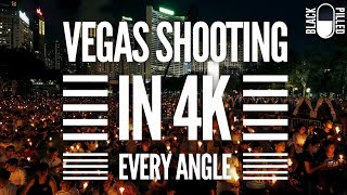 Entire Vegas Shooting Continuous Synced from Different Angles rendered at 4k