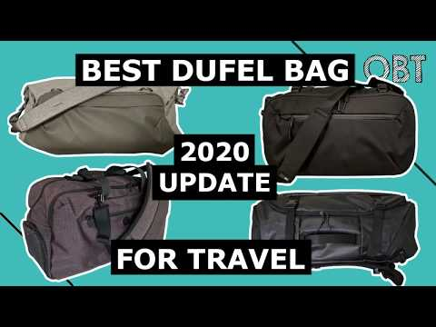 Best Duffel Bags For Travel (Updates For 2020)