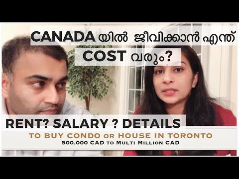Ep #42 | COST OF LIVING IN CANADA | MALAYALAM | SALARY | EXPENSES AND DETAILS