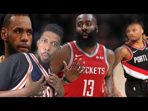 OK HARDEN IS HOTTER THAN LEBRON! ROCKETS Vs TRAIL BLAZERS HIGHLIGHTS