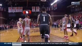 Spin move then foul   Vertical defender or not