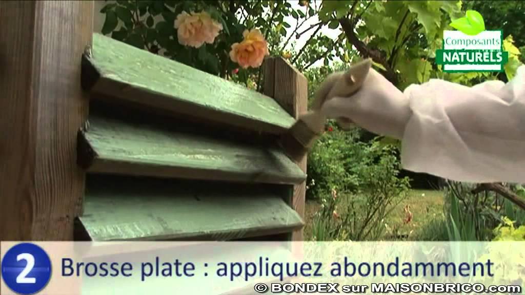 Comment d caper le bois avec un produit naturel bondex for Produit pour decaper le bois