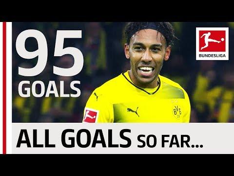 Pierre-Emerick Aubameyang - All Bundesliga Goals So far…