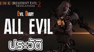 Resident Evil : Evil Diary รวมประวัติ สัตว์ประหลาดใน Resident Evil Revelation 2