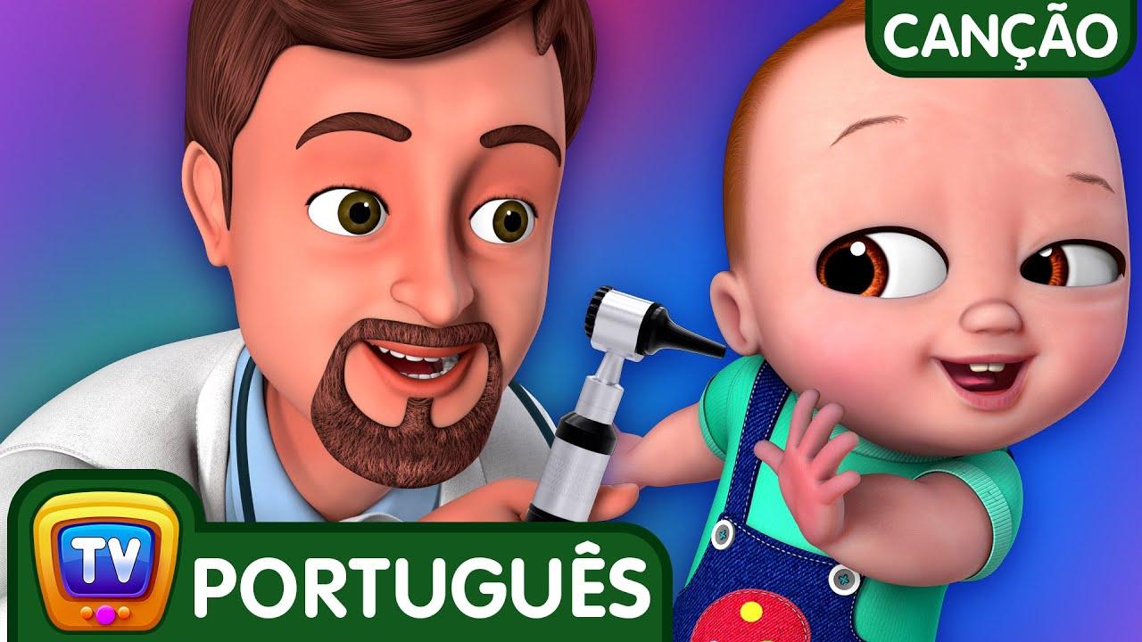 Música Médico Check-up (Doctor Checkup Song)   Canções para Crianças   ChuChu TV