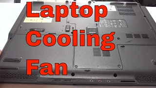 How To Replace A Laptop Cooling Fan-Tutorial